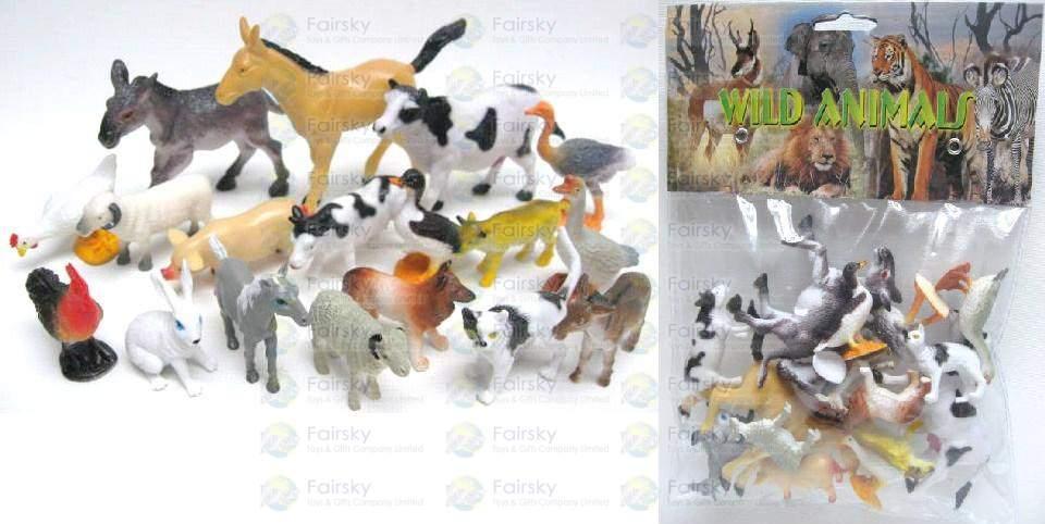 18pcs Farm Animals Set