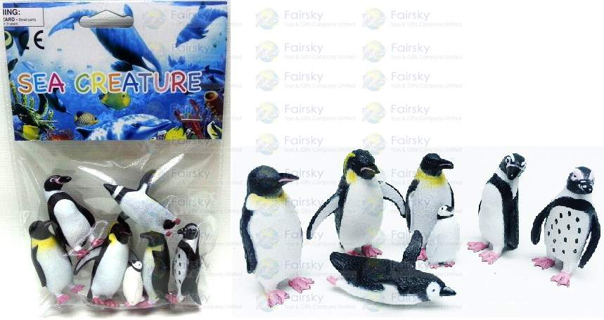 6pcs Penguin Set
