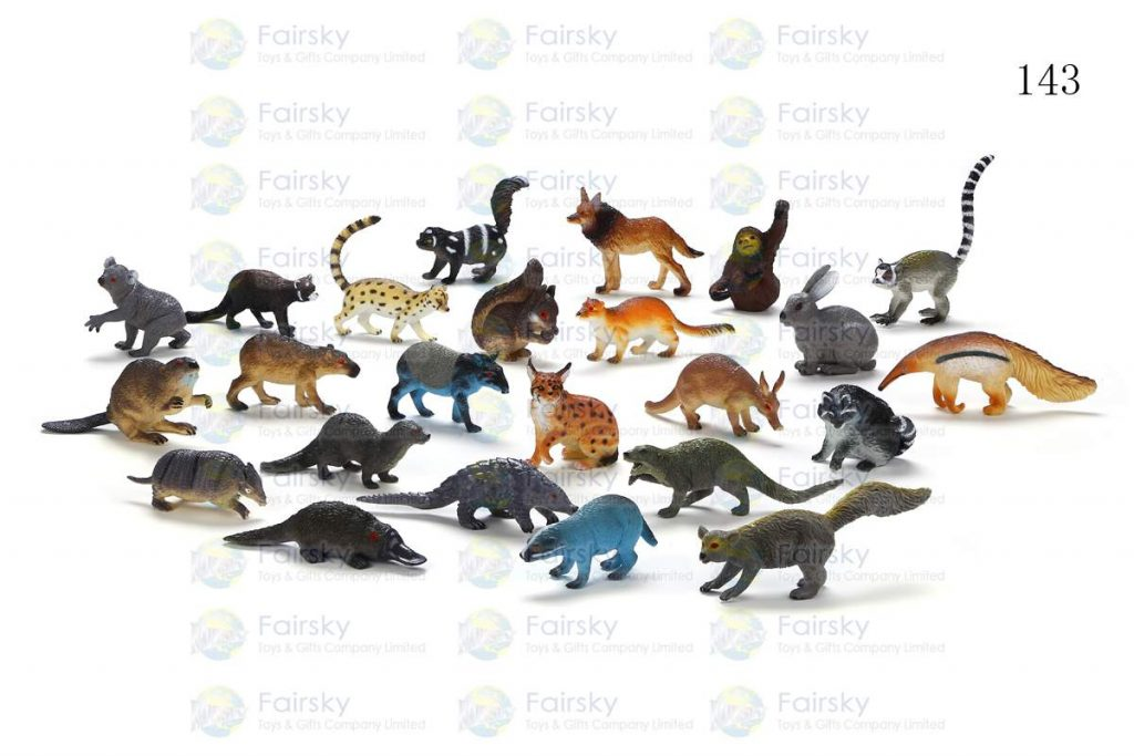"2.5""-5"" PVC FOREST ANIMALS 24 STYLES"