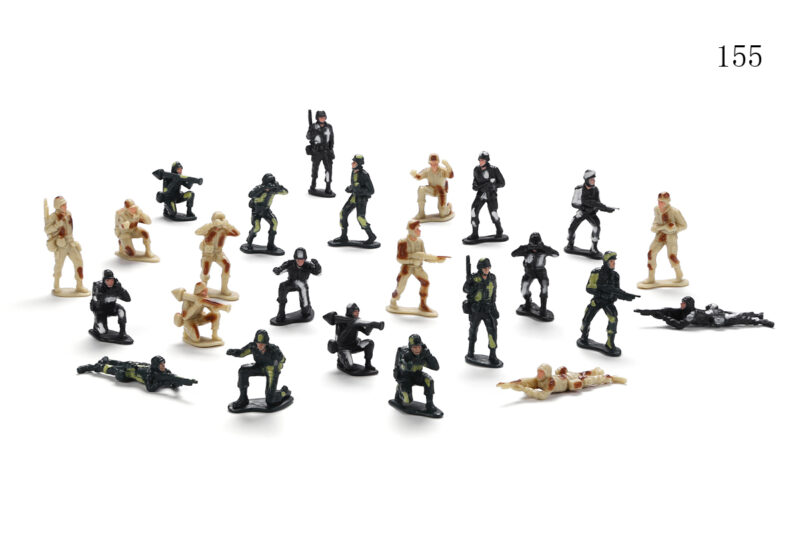 "2""-3.5"" Soldier 8 Assorted - 24 Colors"