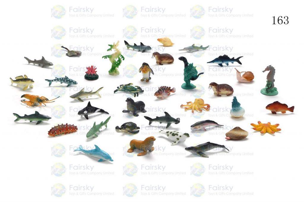 "1""-2.25"" PVC OCEAN ANIMALS 36 STYLES"
