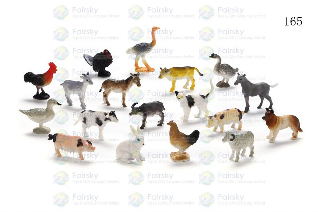 "1""-2.25"" PVC MINI FARM ANIMALS 18 STYLES"