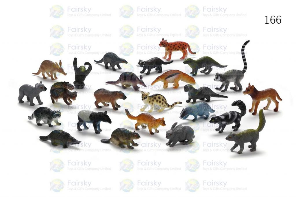 "1.25""-2.5"" PVC FOREST ANIMALS 24 STYLES"