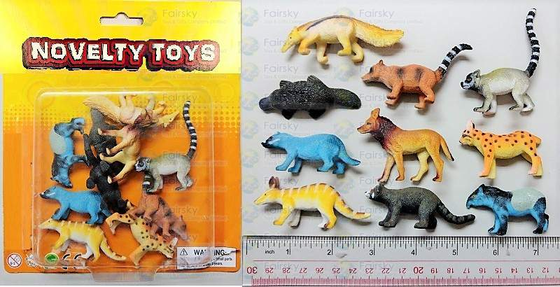 "1.5""-3"" PVC FOREST ANIMALS 36 STYLES"
