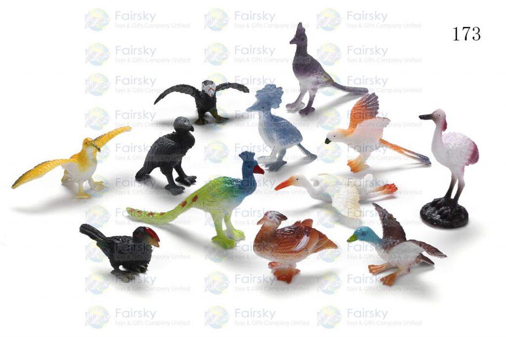 "1.5""-3"" PVC BIRD CREATURE 12 STYLES"