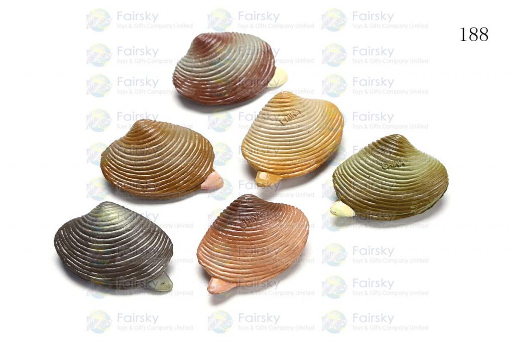 """1.25"""" PVC SHELL 1 STYLE, 6 COLORS"""