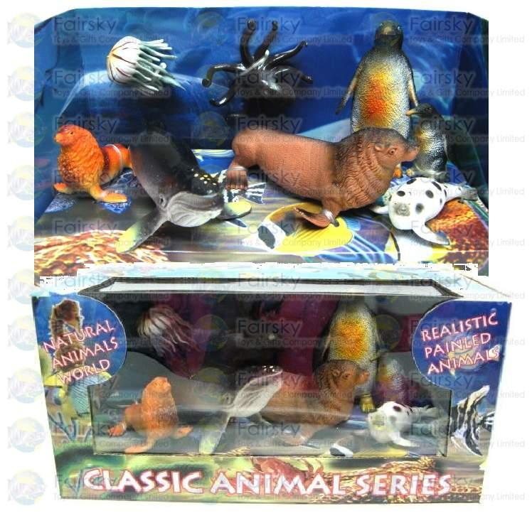 Set of 8pcs Ocean Animals