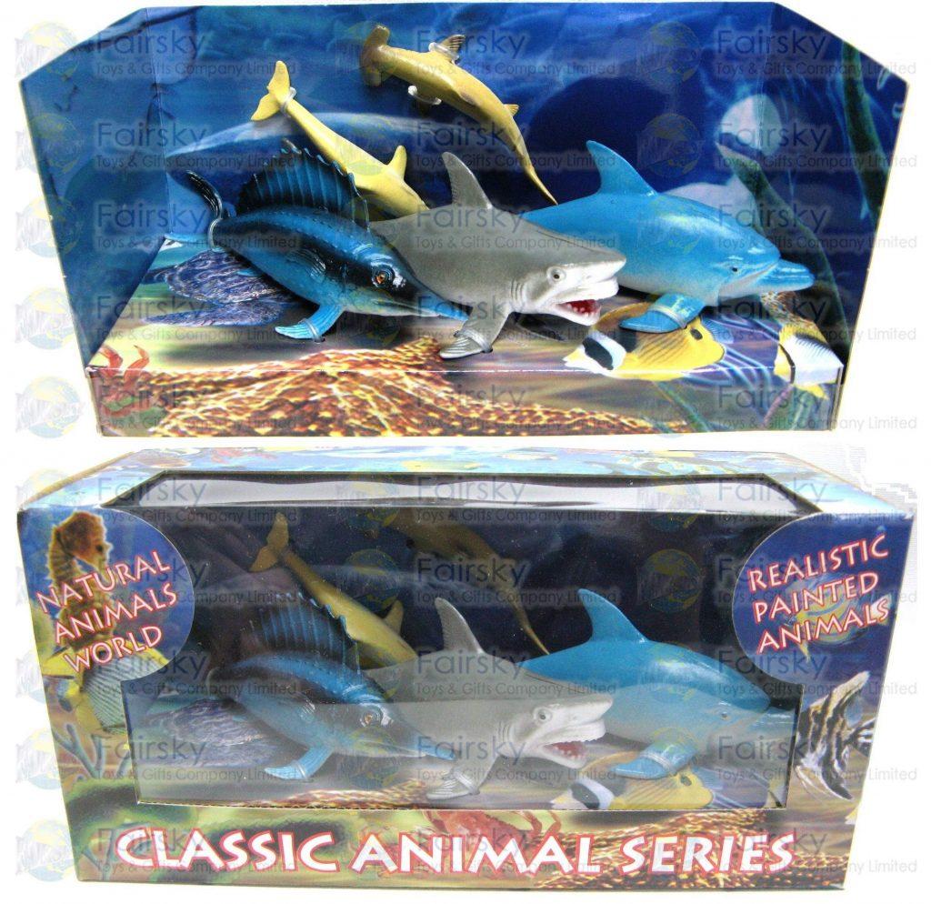 Set of 5pcs Ocean Animals