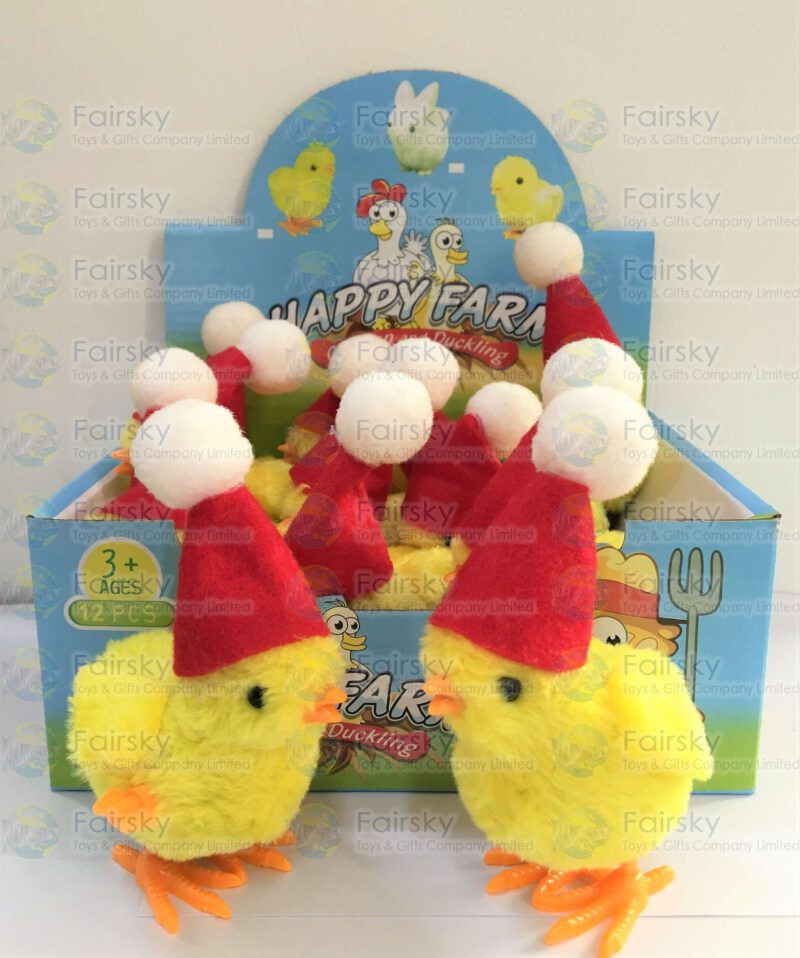 Wind Up Christmas Chicken