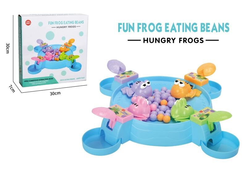 Fun frog eating beans game