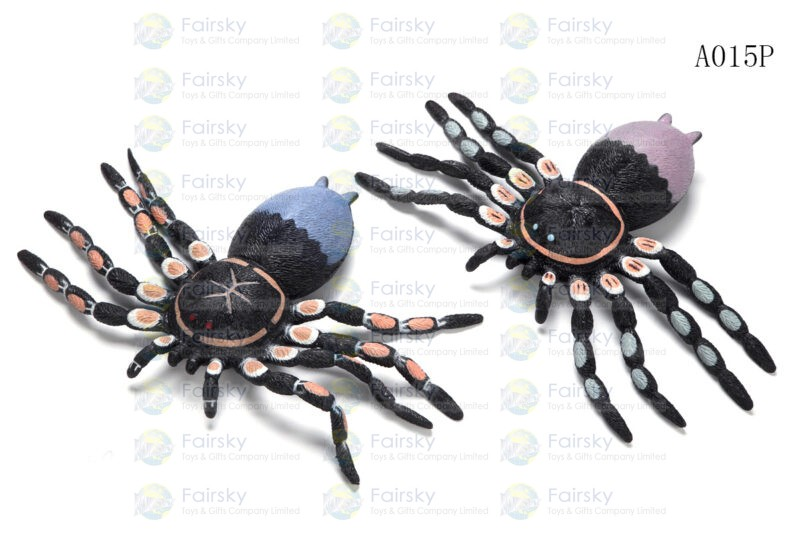 "11"" TPR SPIDER 1 STYLE, 2 COLORS"