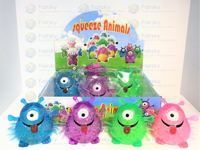 TPR Squeeze Water Beads Monster