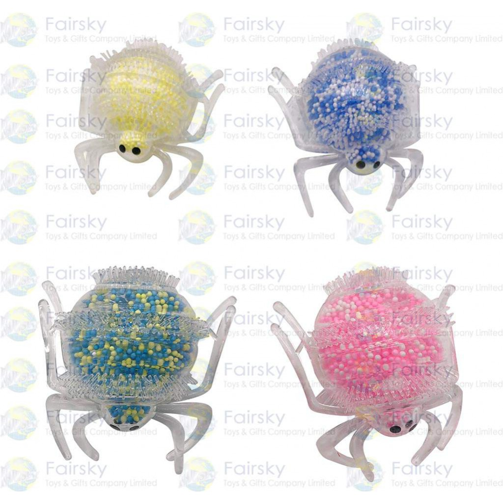 Air Animal in Spider with Plastic Beans Ball