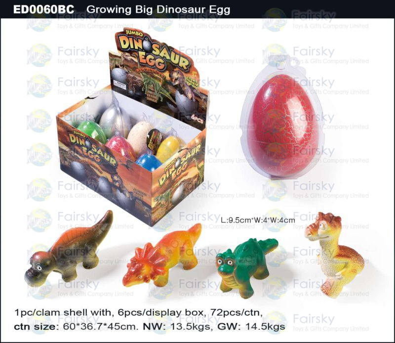Grow Big Dinosaur Egg - Crack Egg Shell