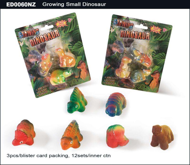 Set of 3pcs Small Grow Dinosaurs