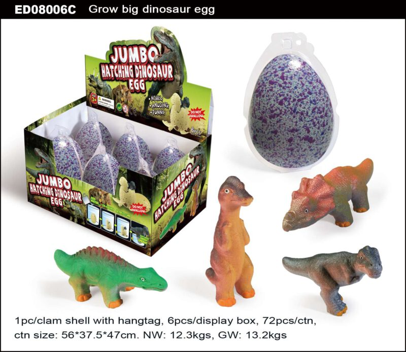 Grow Big Dinosaur Egg