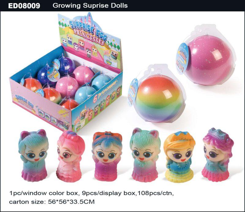 Grow Princesses Egg - Single Color Egg Shell