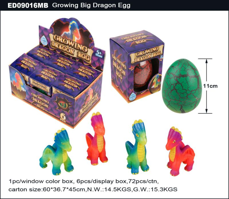 Grow Big Dragon Egg - Single Color Crack Egg Shell