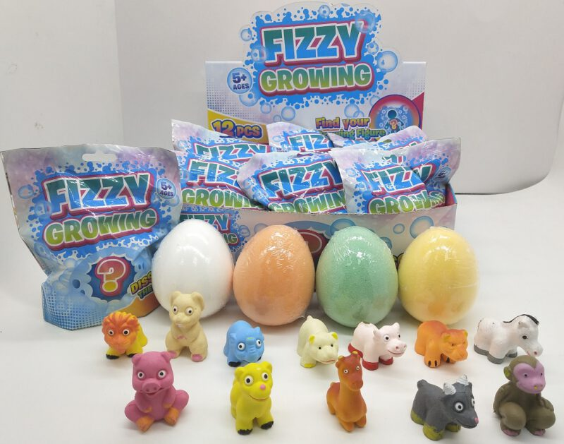 Fizzy & Grow Egg - Animal