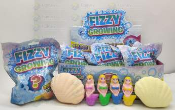 Fizzy & Grow Clam Shell - Mermaid