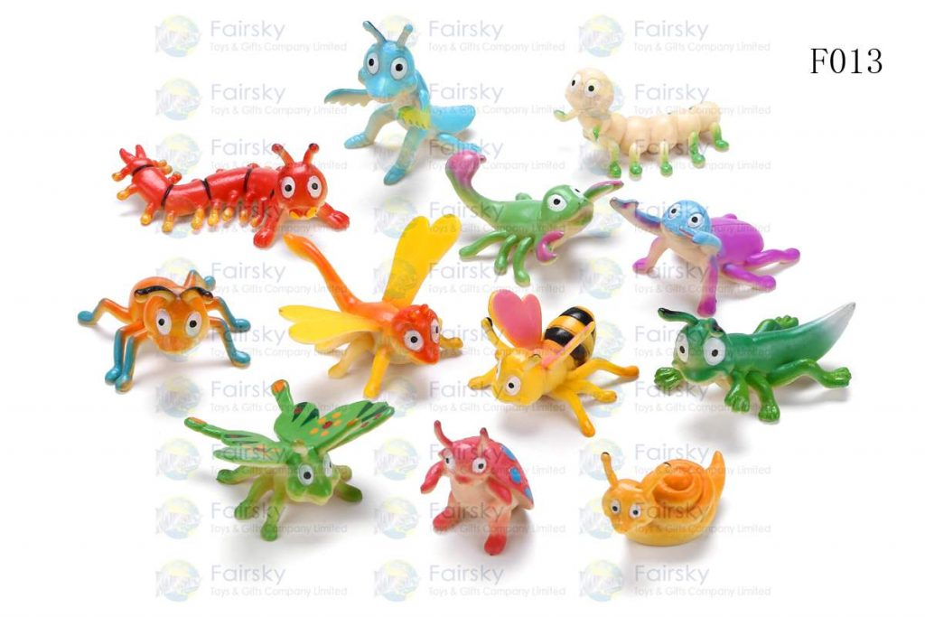 "2""-3"" PVC FUNNY INSECTS 12 STYLES"