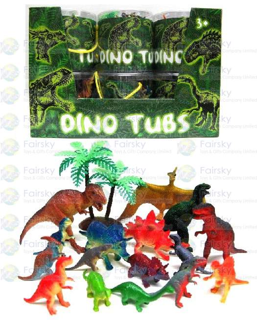 Set of 17pcs Dinosaurs with Tree