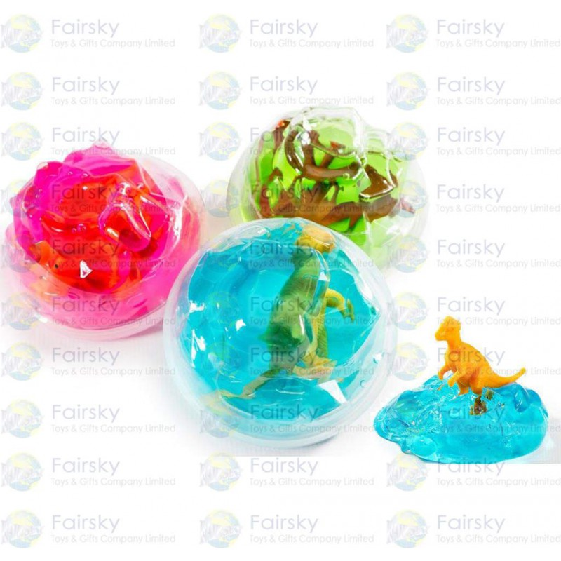 Dinosaur Putty Mountian with Figure