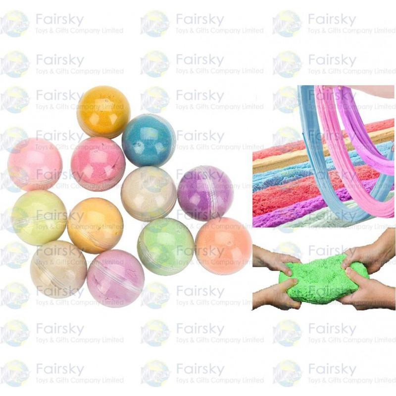 Cotton sand ball