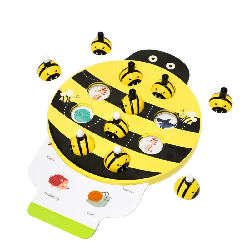 2-in-1 Bee Memory Game