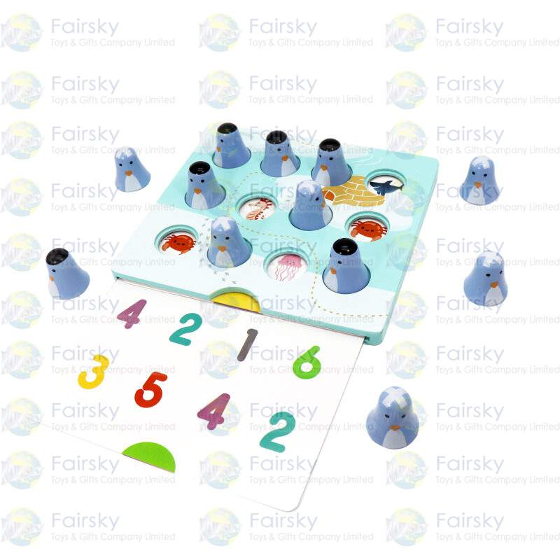 2-in-1 Penguin Menmory Game