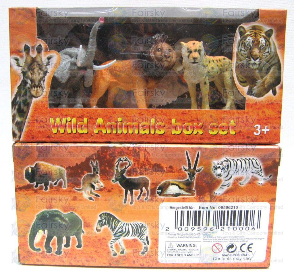 Set of 4pcs Wild Animals