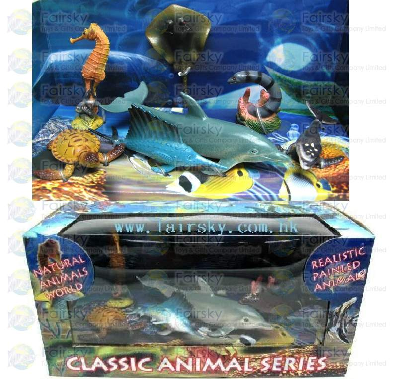Set of 7pcs Ocean Animals