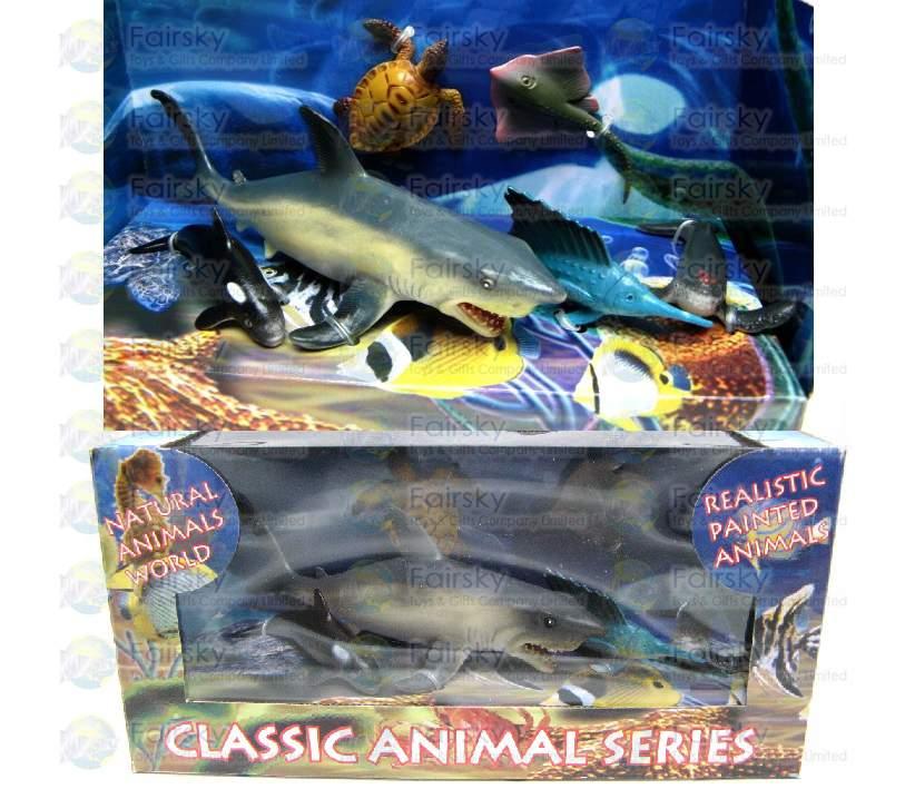 Set of 6pcs Ocean Animals