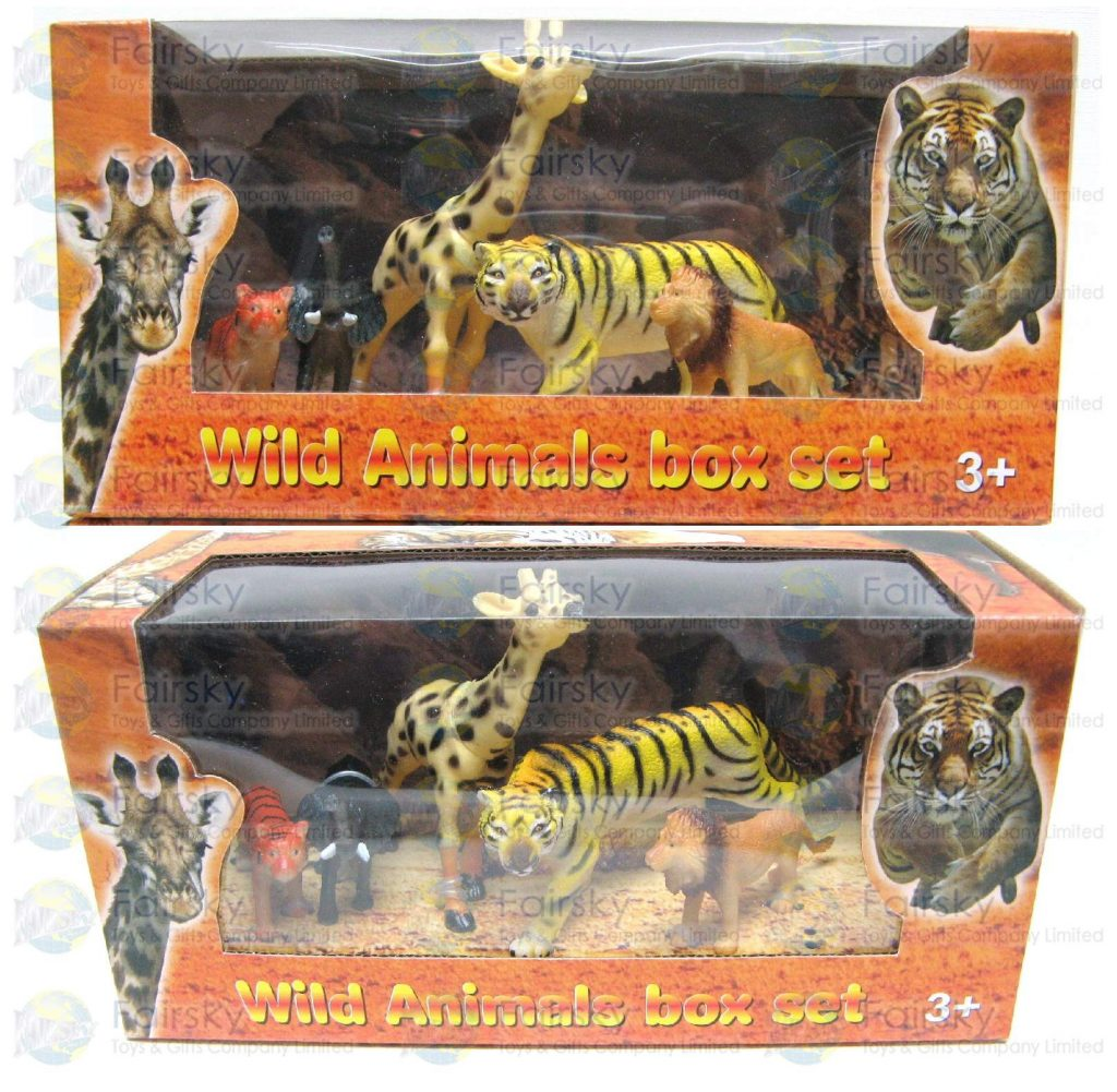 Set of 5pcs Wild Animals