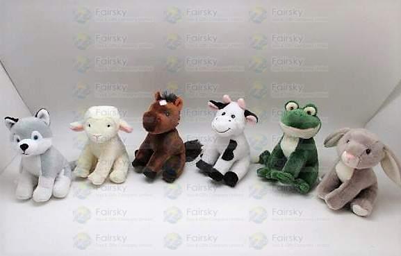 16cm Farm Animals 6 Assorted