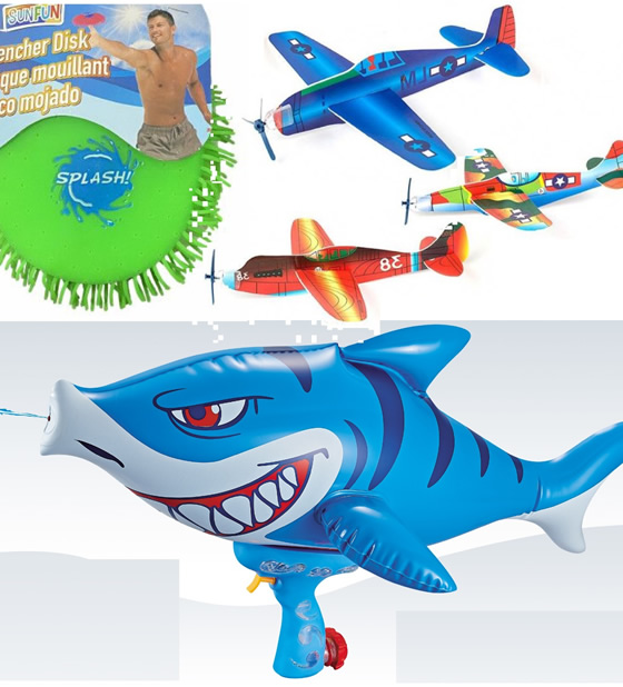 Outdoor Toys & Games Set